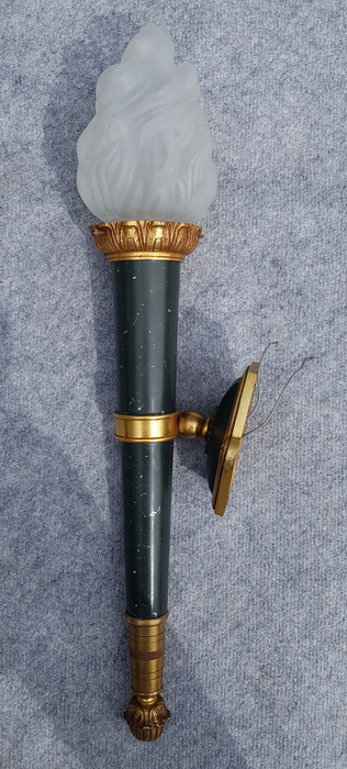 GRANDE TORCHERE BRONZE STYLE EMPIRE/BIG BRONZE TORCHERE EMPIRE STYLE