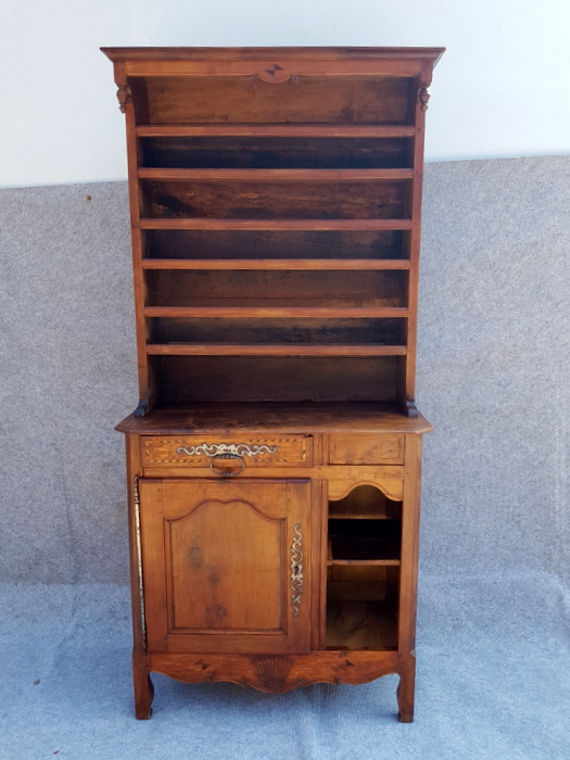 PETIT VAISSELIER MERISIER / CHERRY WOOD SMALL DRESSER