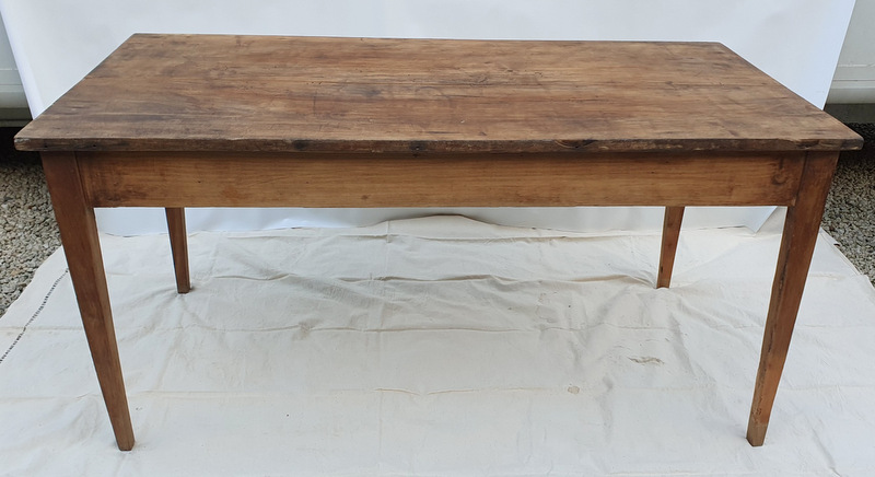 TABLE DE FERME SANS TIROIR / FARM TABLE WITHOUT DRAWER